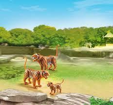 <b>Playmobil</b> Zoo 6645 <b>Конструктор</b> Плеймобил Зоопарк <b>Семья</b> Тигров