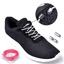 New <b>1 Pair</b> Metal Lock Colorful Blue for Adults Children Sneakers ...