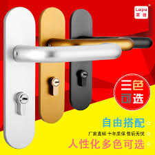 Buy Cabernet <b>space aluminum</b> interior door handle locks the ...