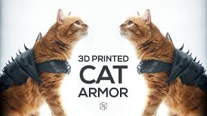 <b>3D Printing</b> - <b>Cat</b> Armor - YouTube
