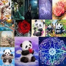 5D <b>Diamond Painting Unicorn</b> Animals Embroidery Cross Stitch ...