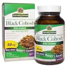 Nature's Answer, <b>Black Cohosh</b>, <b>Full Spectrum</b> Herb, 50 mg, 90 ...