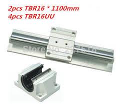 Купить Support Linear rails Assemblies 2pcs TBR16 -1100mm with ...