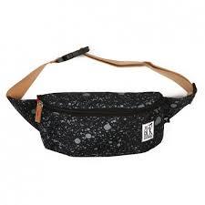 Поясная <b>сумка The pack society</b> Bum Bag (Black Spatters Allover-70)