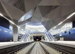 sliced ceiling stations ceiling avant garde