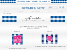 Bath & Body Works | Gift Card Balance Check | Balance Enquiry ...