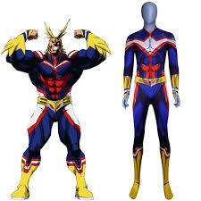 My Hero Academia All Might Kids and <b>Adults Cosplay Costume</b> ...