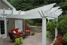 attached patio trellis attached white patio cover pergola and patio cover fieldstone design l