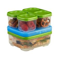 rubbermaid lunchbox sandwich kit food storage container green 1806231 childrens storage furniture playrooms