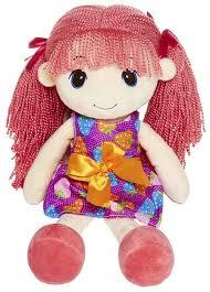<b>Мягкая игрушка Maxitoys Кукла</b> Стильняшка с розовыми ...
