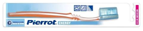 Зубная <b>щетка Pierrot</b> Energy Medium — купить по выгодной цене ...