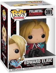 <b>Edward Elric</b> Vinyl Figure 391 | <b>Fullmetal Alchemist</b> Funko Pop! | EMP