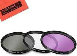 55mm Multi-Coated 3 Piece Filter Kit (UV-CPL-FLD ... - Amazon.com
