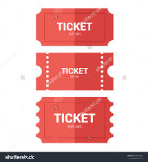 tickets icon flat design vector illustration stock vector tickets icon flat design vector illustration