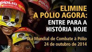 Resultado de imagem para Dia mundial do combate à Poliomielite