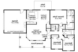 Bungalow House Plans   Strathmore     Associated Designs    Bungalow House Plan   Strathmore     Floor Plan