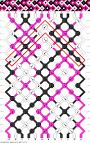 Самая простая схема плетения фенечек