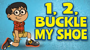 Counting Songs for children - One, Two, Buckle My Shoe - Kids ...