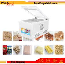 100W 220V Food <b>Vacuum Sealer</b> Including 10Pcs Bags Film ...
