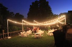Outdoor Lighting Outdoor Lighting For A Wedding Ideas Us House And Home Real