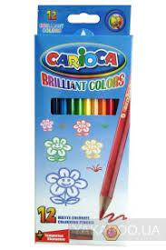 Набор <b>цветных карандашей Carioca</b> с точилкой (40380) купить в ...