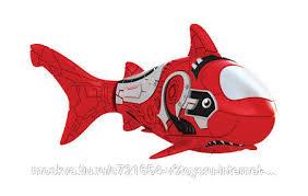 """<b>РобоРыбка</b> """"<b>Акула</b>"""", <b>красная</b>, цена 541 руб., купить в России ..."""