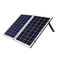 ECO-WORTHY 12 Volts Portable Foldable <b>Solar Panel</b> Kit Solar