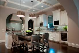 london bay homes custom home private residence 2 trendy l shaped eat in kitchen photo in pendant lighting appealing pendant lights kitchen