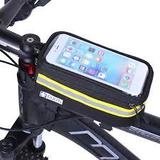 <b>1pcs</b> Blue <b>Cycling Bike Bicycle Rear</b> Frame Pouch Bag Holder ...