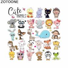 <b>ZOTOONE Cartoon</b> Unicorn Patches Iron on Patches for Children's T ...