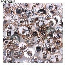 <b>ZOTOONE</b> 50PCS Shiny Metal Sewing Decorative Buttons for ...