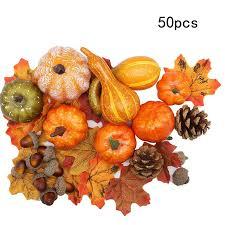 50pcs <b>Halloween Pumpkin Fake</b> Vegetable <b>Simulation Halloween</b> ...