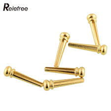 popular professional acoustic buy cheap professional acoustic lots new high quality universal 6pcs brass bridge pins set for most acoustic guitar professional 1 18 inch