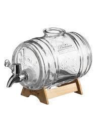 Диспенсер для напитков Barrel на подставке 1 <b>л</b> в подарочной ...