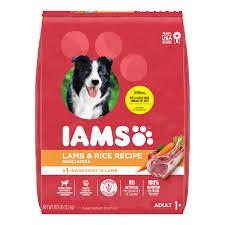 IAMS <b>Adult</b> Minichunks Dry <b>Dog</b> Food <b>Lamb</b> & Rice Recipe <b>Dog</b> ...