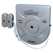 TECHKO <b>Wireless</b> Solar Powered <b>Magnetic Sensor</b> Entry <b>Door</b> ...