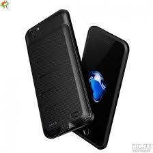 <b>Чехол</b>-<b>аккумулятор Baseus</b> Plaid iPhone 6 Plus 3600 mAh черный ...