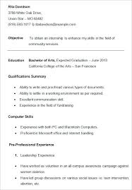 resume writing for high school students undergraduate Standard Cover Letter