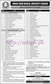 new career jobs jinnah sindh medical university jsmu diagnostic new career jobs jinnah sindh medical university jsmu diagnostic laboratory karachi jobs for senior junior technicians technologist cytologist phlebotomist