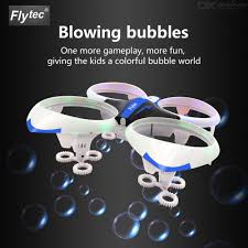 Flytec LED Drone For Kids RC Quadcopter With Bubble 3D Flip ...
