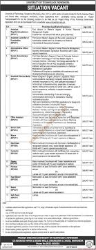 university of technology nowshera jobs the news jobs ads  submit your cv