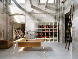 unique cool attractive home office design idea with old wall paint amazing attractive office design