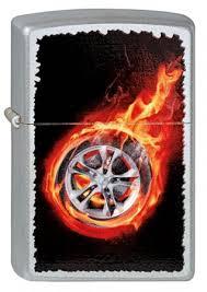 <b>Зажигалка ZIPPO 205 Tire</b> On <b>Fire</b> купить оптом в Москве