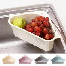 Кухонный треугольный <b>ситечко для раковины</b>, слив овощей ...