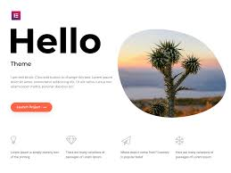 <b>Hello</b> – The Best Elementor & WordPress Theme | Elementor.com