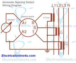 amp meter wiring diagram amp wiring diagrams online ammeter selector switch wiring diagram