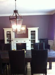 purple dining rooms