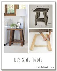 ideas bedside tables pinterest night: build a diy side table building plans by buildbasic wwwbuild basic