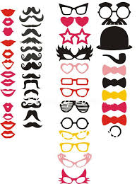 <b>Free Shipping Hot selling</b>! 50 Different Styles photo booth props ...