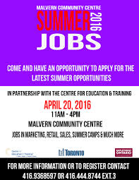 summer jobs toronto west local immigration partnership summer jobs 2016